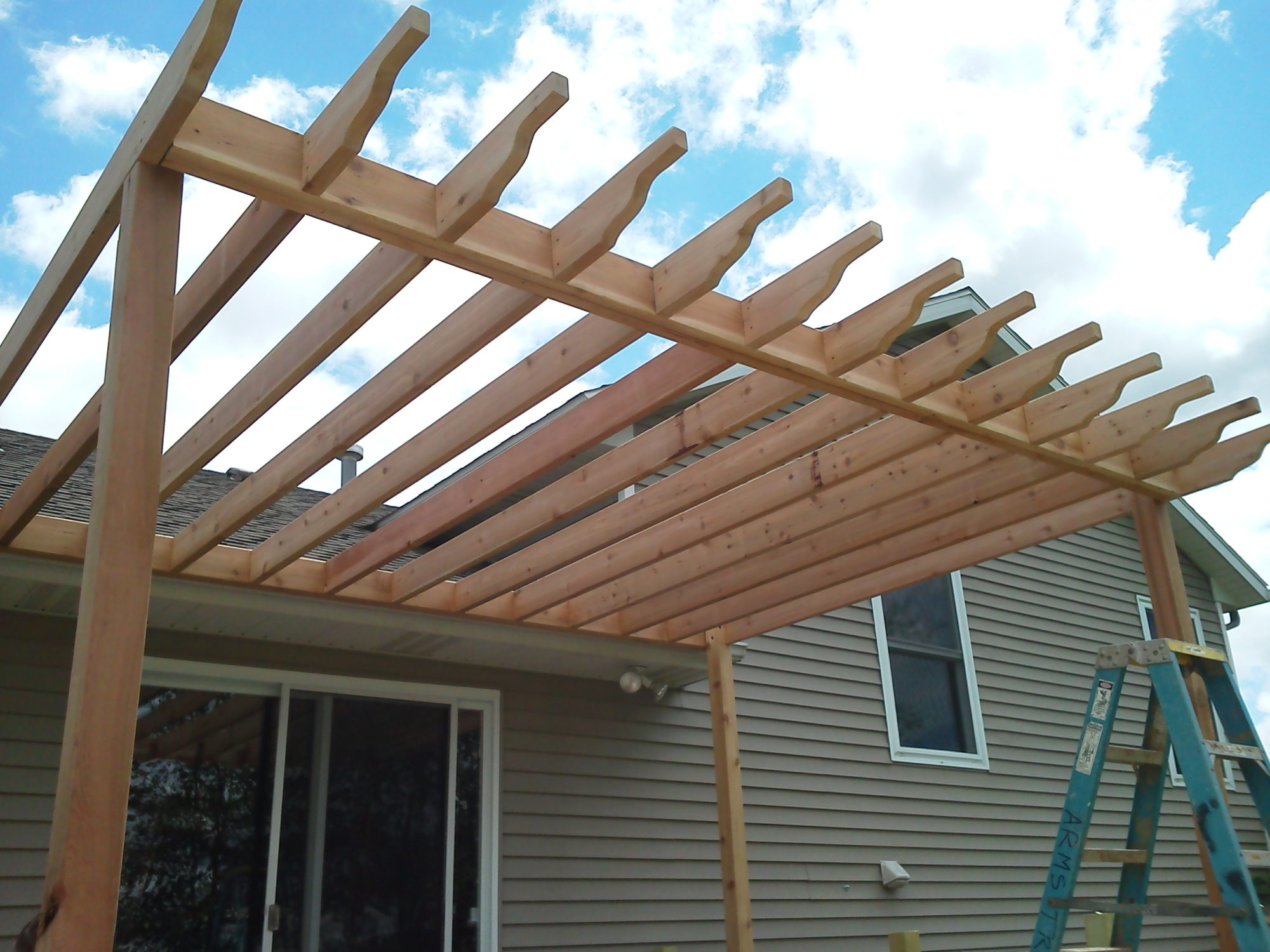 Trellis for Shade
