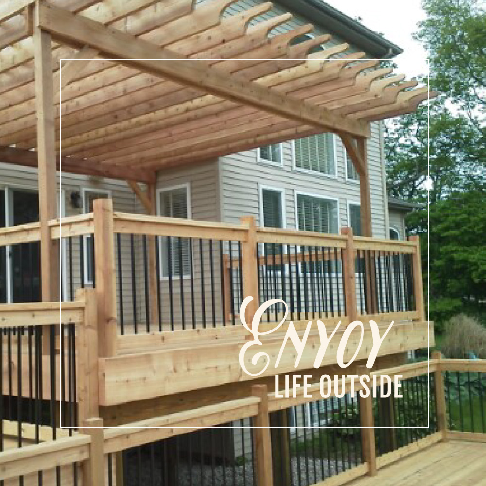 Enjoy Life Outside - Outdoor Living by Armstrong Builders